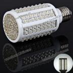 Высококачественная светодиодная лампа E27 166 x LED 220V 7W, излучающая белый свет.(500 люменов)