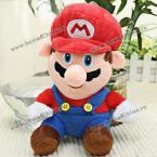 Великолепная мягкая игрушка в виде героя Super Mario.(Цвет - красный)