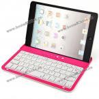Портативная Bluetooth-клавиатура для iPad mini.(Цвет - розовый)