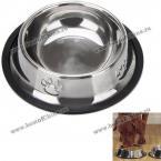Отличная миска из нержавеющей стали для домашних питомцев.(15 см)