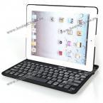 Защитный чехол украшенный съёмной Bluetooth-клавиатурой для iPad 2/New iPad.(Цвет - чёрный)