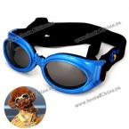 Солнцезащитные очки с регулируемым ремешком для собак.(Цвет - синий)
