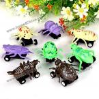 Игрушечные автомобили-насекомые.(8 штук)
