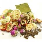 Натуральный чай для похудения из бутонов роз, лимона, боярышника, лотоса в упаковке 360g