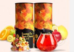 Популярный ароматный фруктовый чай 150g