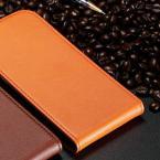 Защитный чехол-бумажник из натуральной кожи с функцией подставки и карманом для визиток для Samsung Galaxy S4 Mini i9190.(Защитная плёнка для экрана в подарок)