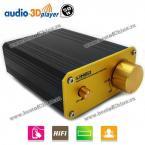 A950 50W HiFi Audio 3D Player Digital Audio Power Amplifier (BLACK)