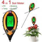 High Performance KC300 4 In 1 Digital pH Moisture Sunlight Soil Meter KC300