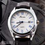 Beinuo водонепроницаемые мужские часы с кожаным ремешком. (MN4811)