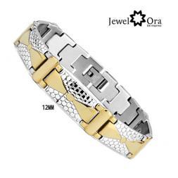 2014 Fashion Jewelry Wrap Wristband For Men New Product Bangle 316L Stainless Steel Men's Bracelet (JewelOra BA100965)