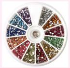 New Arrival 1.5mm 3600pcs Nail Art 3D DIY Rhinestones Decoration