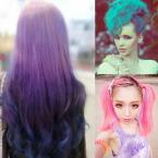 1set 24 Colors Non-toxic Temporary Pastel Hair Square Hair Dye Color Chalk