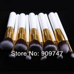 NEW 2014,Pro Makeup Cosmetic Brush Set Eyeshadow Foundation Wood Brushes Blusher Tool Kit 10 pcs makeup brush set tools