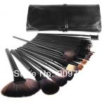 2014 new  Professional 24 PCS Makeup Brush Set Make-up Toiletry Kit Wool Brand Make Up Brush Set Case