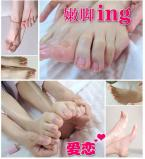 Free shiping  high quality Exfoliating dead skin Japanese foot mask