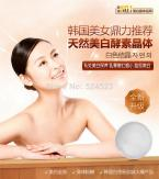 1PCS Natural Crystal body whitening Soap Beauty Ruddy Areola Crystal Soap Active Enzyme Soap Remove Odor Underarm Body Whitening