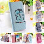 Owl Pattern National Cute Case for Samsung Galaxy S3 SIII i9300 Wallet Stand Flip Leather Wizard Bird cage Crown Cover YXF04134