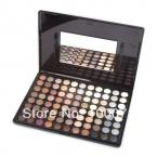 New Makeup Warm Pro 88 Full Color Eyeshadow Palette Eye Beauty Cosmetics Make up Set #1703