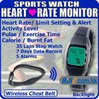 Наручные часы с функцией подсчета калорий 240bpm, сердечного ритма