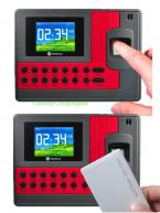Realand A-C110T Fingerprint Time Attendance Clock ID Card+TCP/IP+USB 200MHz CPU