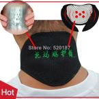 1pc New 2014 Tourmaline Magnetic Therapy Neck Massager Cervical Vertebra Protection Spontaneous Heating Belt Body Massager TML02