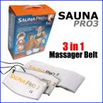 3 in 1 Sauna PRO 3 Slimming Massager Belt  With LED Timer and Temperature Controller 220V EU Plug