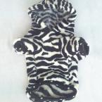 Модная толстовка с капюшоном, тигровым узором и узором в виде зебры для собак.(Сезон - осень/зима)