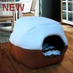 Dog Bed Dog House Cat House Autumn and Winter Kennel Pet Bed Dog Sofa Pet Nest Pet Supplies  1pcs/lot