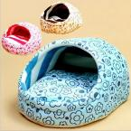 Pet House Dog Bed Dog Litter Pet Nest Kennel Sweet Slippers Dog Mats Winter is Not Cold Removable and Washable 1set/lot