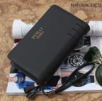 POLO стильный мужской бумажник из натуральной кожи с коротким ремешком.(WDC1001)