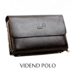 POLO элегантный мужской кошелёк из натуральной кожи.(WDC1002)