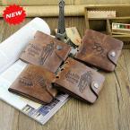 Модные мужские кошелёк из искусственной кожи в ковбойском стиле.(ZX-D1109-5)