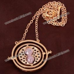 Delicate Jewely Time Turner 18K Necklace in Harry Potter - Gold
