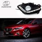 Huahong  car LED DRL Refit daytime running lights LED fog front lamps decoration products for 2013 Mazda 6 Atenza