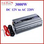 High Power 12V Car Converter 3000W Charger DC 12V TO AC 220V Peak Power 6000W Car Power Inverter 3000W Adapter