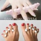 1Pair of Soft Toe Finger Separator Nail Art DIY Tool Manicure Pedicure