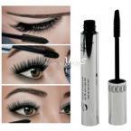 Long Eye Lashes Makeup Waterproof Eyelash Silicone Brush Head Mascara New