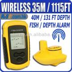 Lucky FFW1108-1 Wireless Sonar Portable Fishfinder Alarm Ocean River Lake Fish Finder