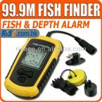 Lucky FF1108-1 Portable Sonar Fishfinder Digital Sea Ocean River Lake Detect Alarm Fish Finder