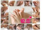1pairs/lot crystal foot mask callus remover socks mask baby Foot stickers skin care feet mask