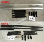 Рейлинги на крышу для Honda CRV 07-11. (Цвет - чёрный и серебристый)