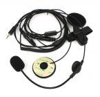 Гарнитура для мотоциклистов - микрофон и динамики для раций YAESU Vertex VX-6R/ 7R VX-6E/7E VX-120 VXA-700.