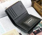 Мульти-функциональный мужской кошелёк из натуральной кожи.(ZX-D1203-81)