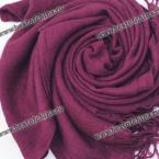 Simple Pure Color Tassels Scarf For Women (COLOR ASSORTED)