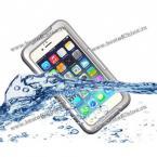 IP - 68 водонепроницаемый чехол из пластика и термопластичного полиуретана с ремешком для iPhone 6 Plus, 5.5 дюйма. (Цвет - белый, глубина до 6 метров)