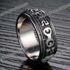 Fashion Character Pattern Ring For Men (AS THE PICTURE,ONE SIZE(FIT SIZE XS TO M))