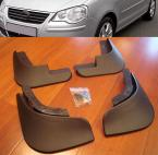 4PCS/SET FIT FOR 2005~2009 VOLKSWAGEN POLO VW MUD FLAPS SPLASH GUARDS MUDGUARDS 2006 2007 2008 HATCHBACK