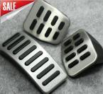 Накладки на педали для Volkswagen Polo Jetta MK4. (3 штуки)