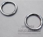 Декоративные хромированные накладки-кольца на динамики для Mitsubishi ASX 2011-2013.
