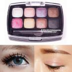 2 Layers 10 Color Hot Women Makeup Cosmetics Eye Shadow Eyeshadow Palette Set with Brush#63570